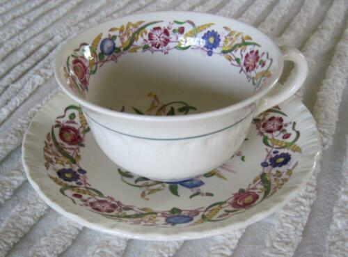 8023 Wedgwood Cornflower Cup and Saucer A.K
