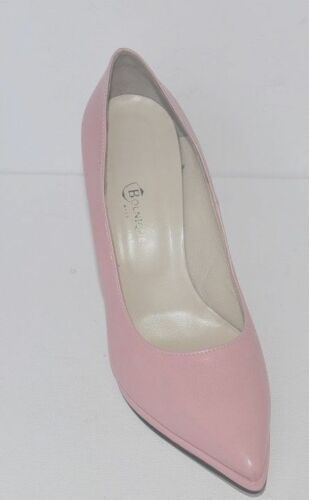 Soft Good Leather Made In Platform And Very Pumps Italy Comfortable Pink 0gXfqRwAxg