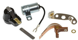ignition tune up kit points condenser rotor ford 9n 2n. Black Bedroom Furniture Sets. Home Design Ideas
