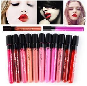 Lip Gloss Lip Paint Lipstick Matte Velvet Waterproof Super Long Lasting UK STOCK