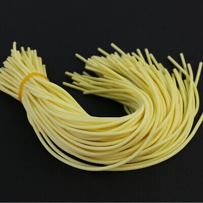 5//20//60PCS Bicycle Soft Rubber Tubing Elastic Hose Rplacement for Bike Valve