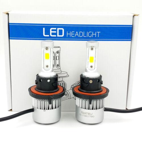 H13 9008 1500W 225000LM CREE LED Headlight Kit Hi//Lo Beam Bulb White 6000K Power