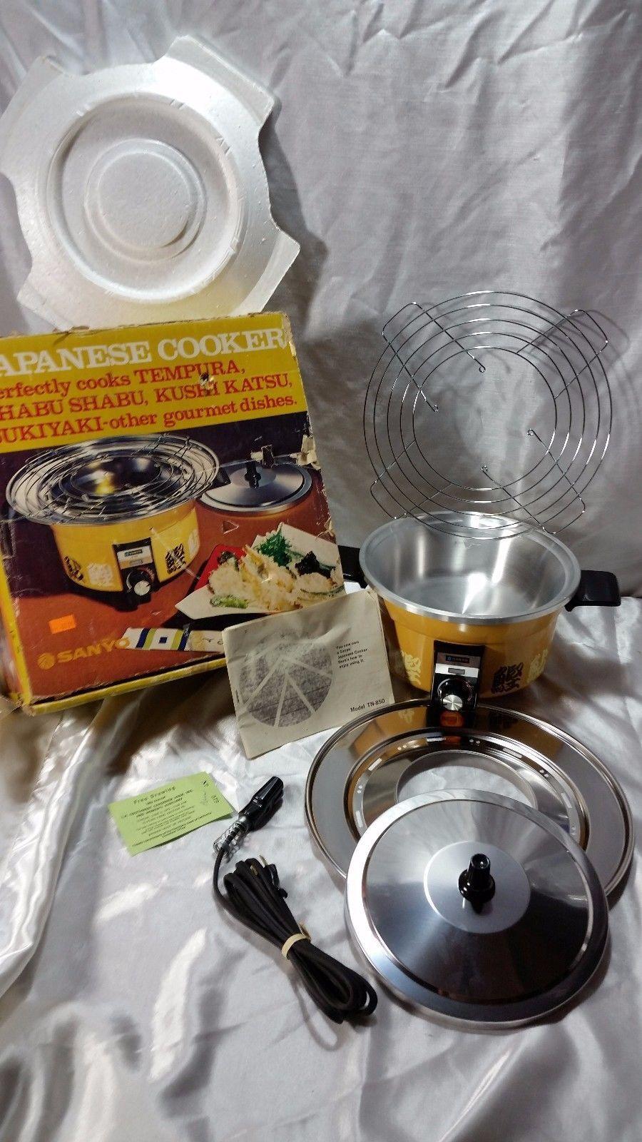 SANYO japonais Cuisinière modèle TN-850 NEUF autres Inutilisé Set 1970 ERA livraison gratuite