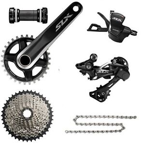 New Shimano SLX M7000 1x11 Drivetrain Groupset 6 pcs, SLX M7000 Single 11-42T