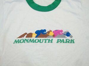 Vintage Monmouth Park Horse Jockey Derby Racing Gambling
