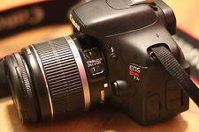 Canon EOS Rebel T3i / EOS 600D 18.0MP Digital SLR Camera - 18-55 mm Lens