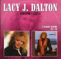Lacy J. Dalton - Survivor / Lacy J. [new Cd] on sale