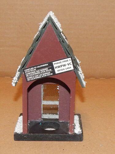 "Christmas ArtMinds Mini Embellishment Snow House 5.5 x 3/"" Wooden Decoration 88J"