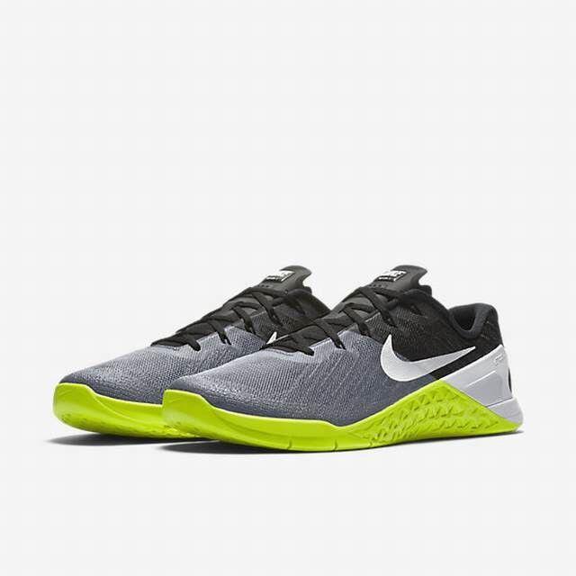 Nike Metcon 3 Training Men's shoes Grey Black Volt White Size 11 12 852928-001