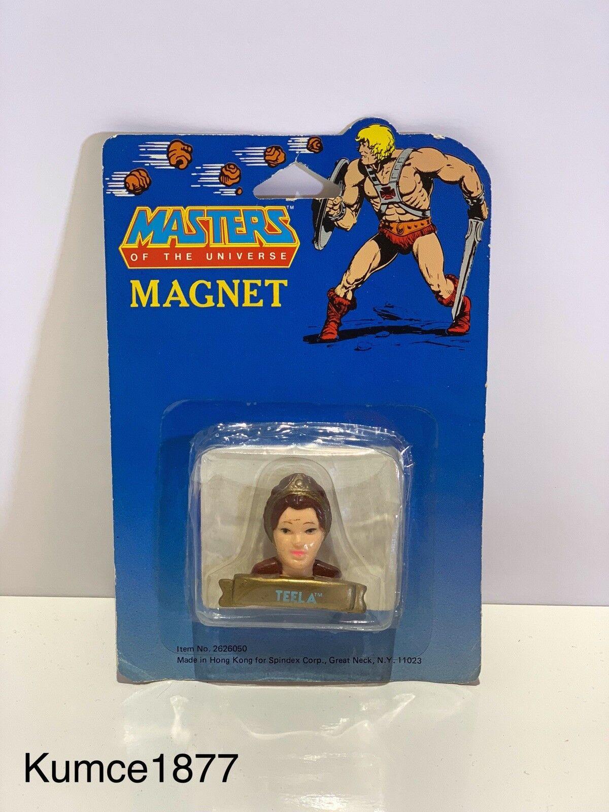 MOTU, Masters Of The Universe Magnet, Teela, Vintage, MOC, Merchandise, Rare