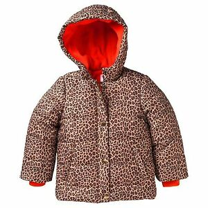 a16e4f294616 Carter s Toddler Girl Cheetah Coat Jacket Animal Print 2T NEW  80