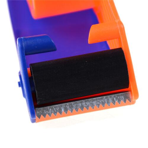 """Sealing Packaging Parcel Plastic Roller 2/"""" Width Tape Cutter Dispenser TEUSWTUS"""