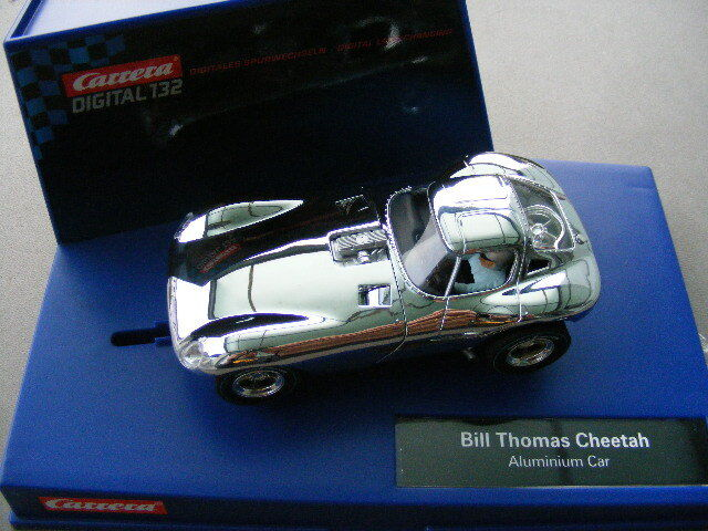 Carrera Digital 132 30648 Thomas Cheetah Aluminium Car Light New
