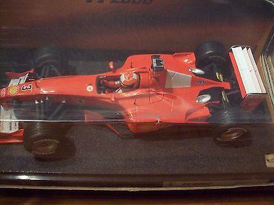 Perseverando 1/18 Michael Schumacher Ferrari F2000 26737-mostra Il Titolo Originale Squisito Artigianato;