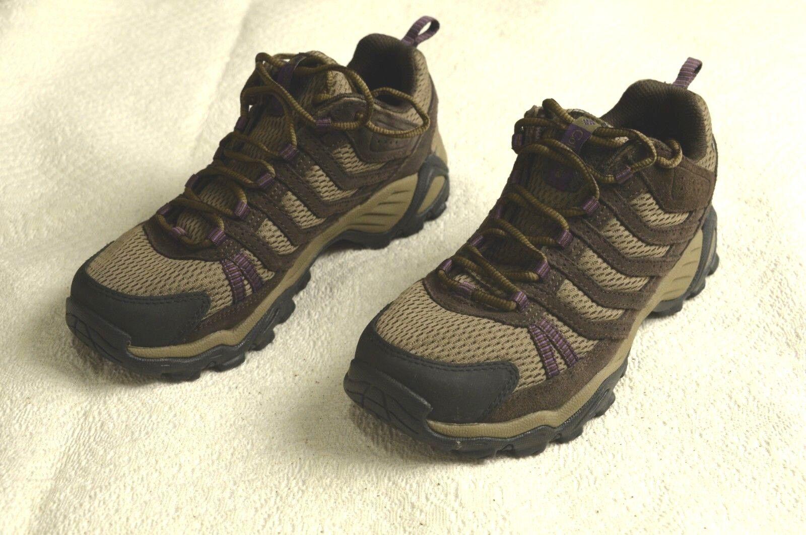 Zapatos de senderismo para mujer columbia techlite Omni Agarre Talla 7 BL3888-269 Marrón Púrpura