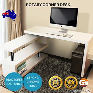 Artiss Swivel Rotary Corner Desk With