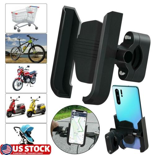 Aluminum Alloy Bicycle Motorcycle Bike Bicycle GPS Phone Holder Handlebar Mount