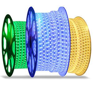 5m-50m-LED-Stripe-Leiste-Streifen-Band-5050-Lichtschlauch-Lichtstreifen-IP65-W