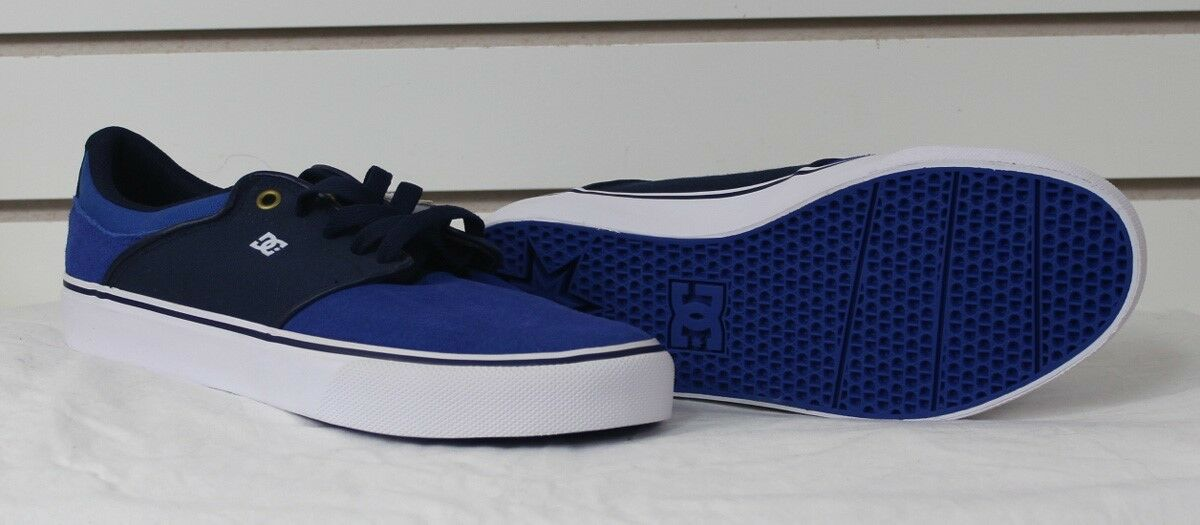 New 2016 DC Mens Mikey Taylor Vulc Low Top shoes Royal 9