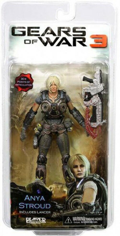 Neca gears of war 3 anja stroud actionfigur [lancer.