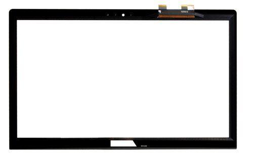 "15.6/"" Touch Glass w// Digitizer Lens without Bezel For ASUS Laptop 13NB0BZ2AP0141"