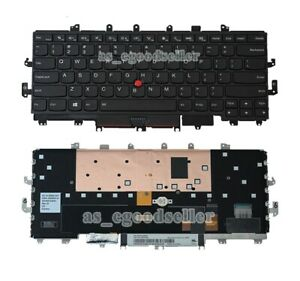 New for Lenovo Thinkpad X1 Yoga 1st Gen 20FQ 20FR, 2016 Backlit Keyboard US