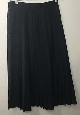 8 Jaeger Pleated Woollen Skirt ~ Size 8 Vintage
