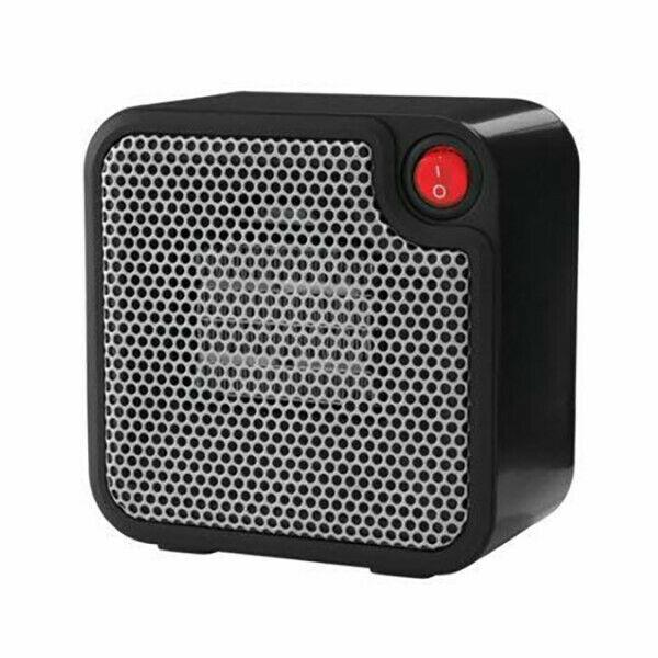 Mainstays DQ1723-BLK Mini Ceramic Heater Black