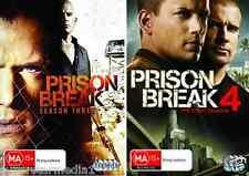 Prison Break COMPLETE Season 3 & 4 : NEW DVD