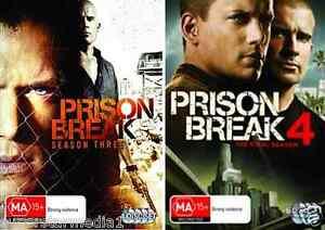 Details About Prison Break Season 3 4 New Dvd