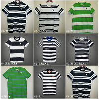 Abercrombie & Fitch,men's T-shirts,muscle Fit,crew Neck.