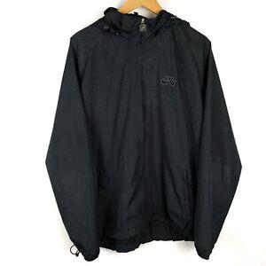 Nike-SB-Cement-Elephant-Print-Black-Windbreaker-Dunk-Jacket-Size-XL-Extra-Large