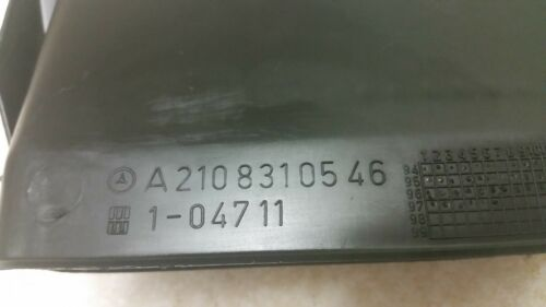 Mercedes W210 E300 E320 E420 E430 96-02 UNDER THE FRONT SEAT AIR VENT GRILL DUCT