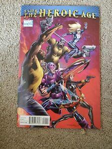 ENTER-THE-HEROIC-AGE-One-Shot-Marvel-Comic-Book-1st-Print-NM-Black-Widow-Hawkeye