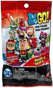 TEEN-TITANS-GO-Mini-Figure-Series-2-Blind-Bag-U-CHOOSE-Raven-Cyborg-Robin