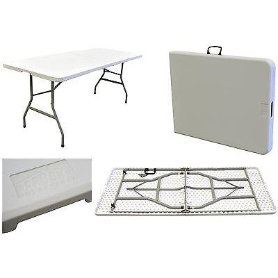 6ft Portable Folding Picnic Camping Party Garden Caravan Trestle Table