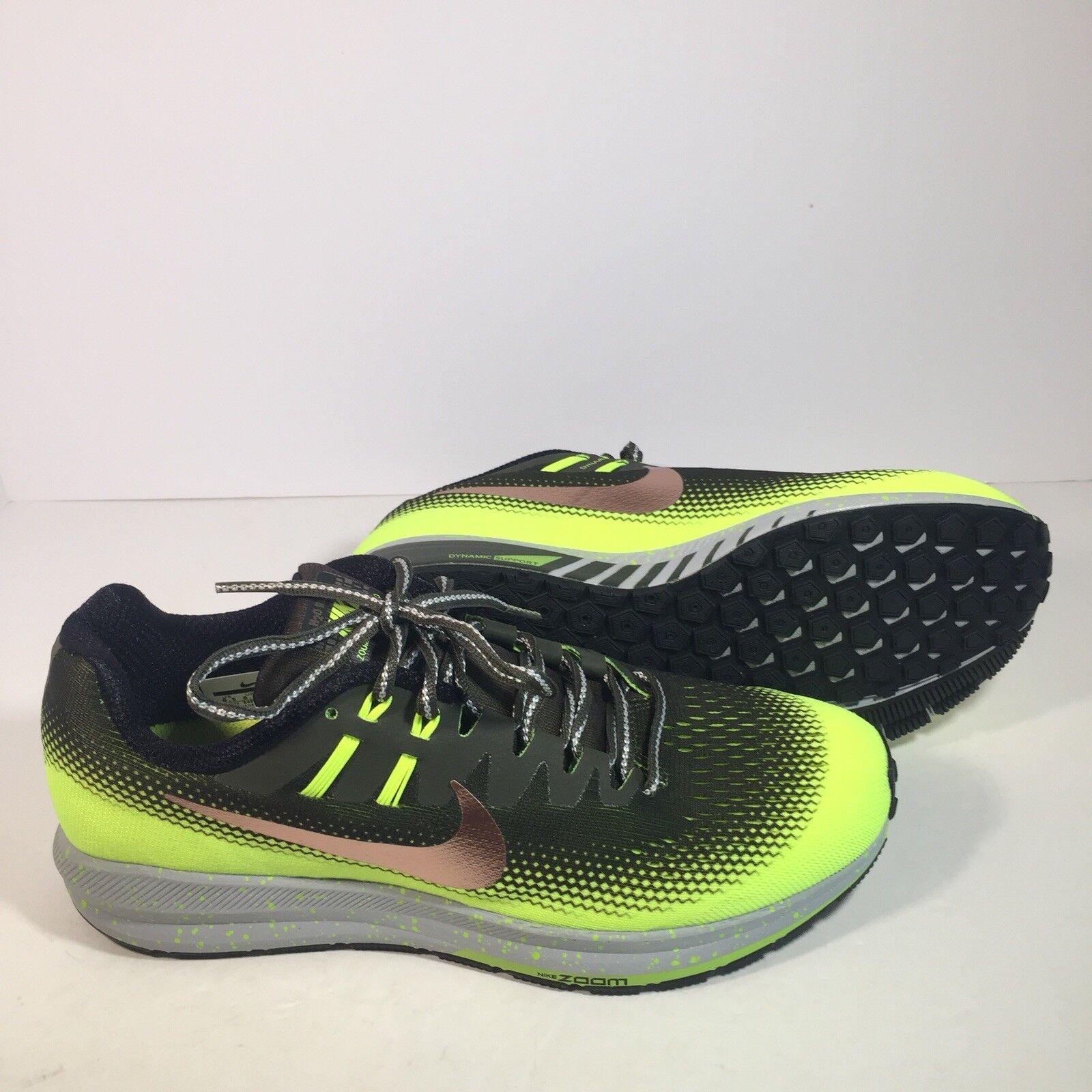 Nike Mens Air Zoom Zoom Zoom Structure 20 Shield Running Khaki Bronze Volt S 14 849581-300 db4c9d