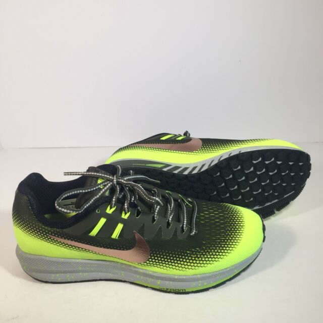 los angeles clearance prices factory outlet Nike Mens Air Zoom Structure 20 Shield Running Khaki/Bronze/Volt S 14  849581-300