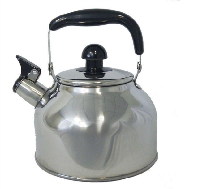 Stainless Steel Large 4 5 Liter Quart Whistling Tea Kettle Pot Infuser Wk1922
