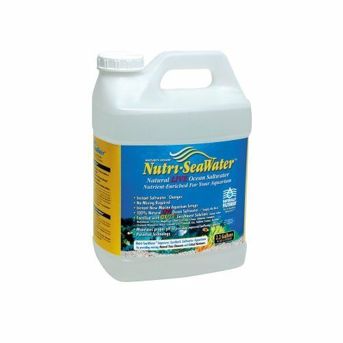 Worldwide Imports AWW84120  Live Nutri Seawater for Aquarium 2.20-Gallon