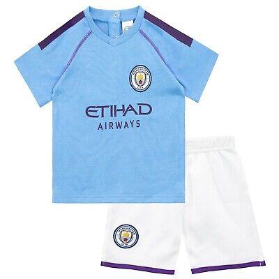 Little Girls Manchester City Shortie Pyjamas Manchester City F.C