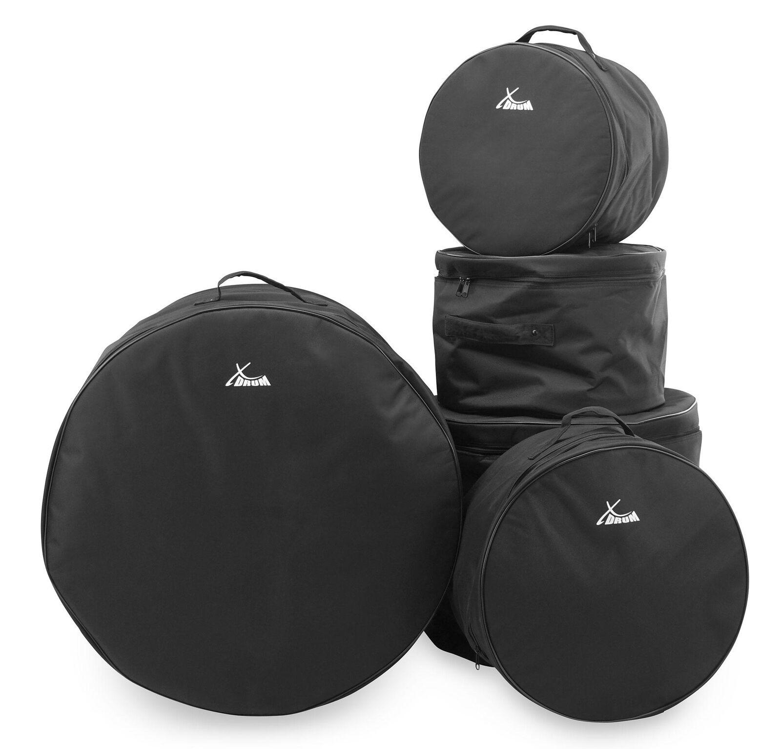 5-teiliges Drum-Bag-Set mit stabilen Tragegriffen & großzügiger Innenpolsterung