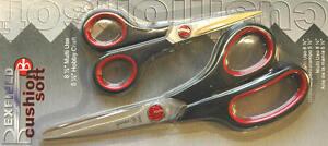 Bexfield-Cushion-Soft-Scissor-Set-Dressmaking-amp-Hobby-Craft-81-2-51-2-034-BLB601