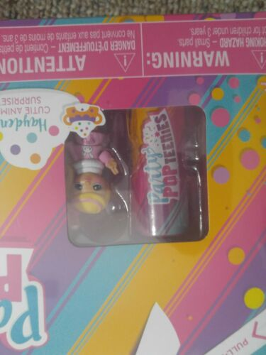 PARTY POP TEENIES  SERIES 1 PARTY SURPRISE BOX PLAYSET UNWRAP 10 GIFTS
