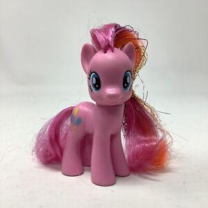 "My Little Pony FiM Pinkie Pie Rainbow Power Tinsel Hair 3"" Brushable"