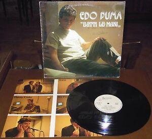LP EDO PUMA Batti le mani (Metronomo 88) obscure Italo synth pop inner RARE VG+