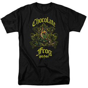 7xl uomo adulti Potter Sm Harry Chocolate Frog Maglietta licenza grafica con da per Eq1n7w