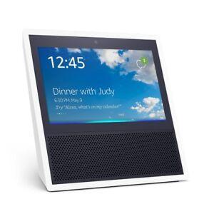 Amazon-Echo-Show-WHITE-Alexa-BRAND-NEW-IN-STOCK-FREE-USA-SHIPPING
