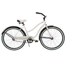 Womens Cruiser Beach Huffy Bike bicycle 26 White single speed girls NEW