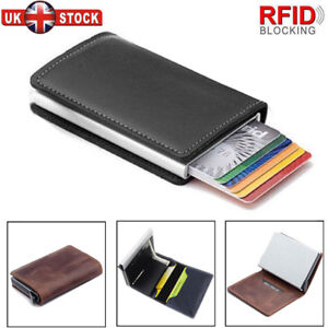 eb81a41780d5 Anti-theft Tactical Wallet RFID Blocking Wallet Purse Money Card ...